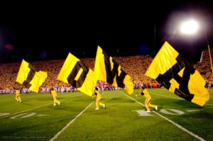 A University of Iowa Hawkeye football game