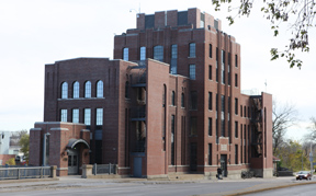 C. Maxwell Stanley Hydraulics Laboratory, viewed fromt the west