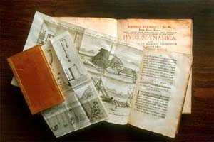 Former IIHR Director Hunter Rouse assembled a fine collection of books on the history of hydraulics.