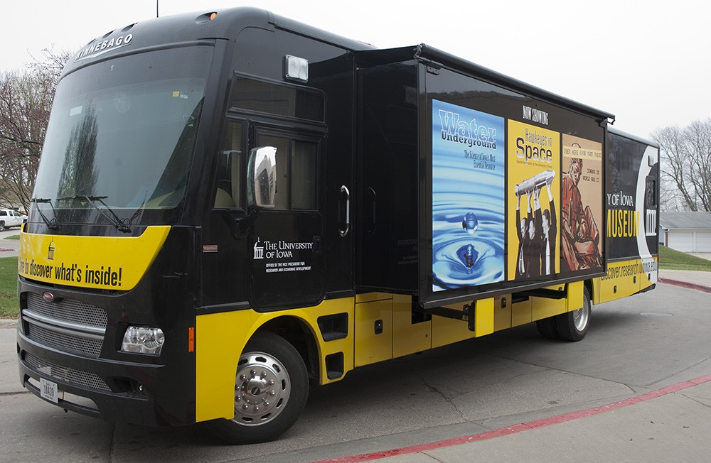 The 2015 UI Mobile Museum is ready to hit the road.