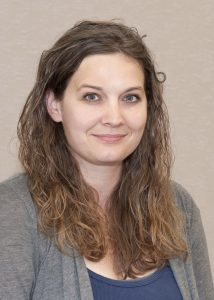 """IHR Research Assistant Michelle Wienhold is group lead for the University of Iowa GIS Users Group. She was part of the team that recently took LiDAR scans of Iowa City's """"beer caves."""""""