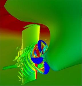 CFD of ship propeller