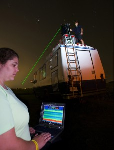 Light detection and ranging (Lidar) equipment has important applications in monitoring air pollution.