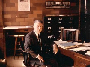 Hunter Rouse, founder of the History of Hydraulics collection.