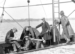 Research on the Mississippi