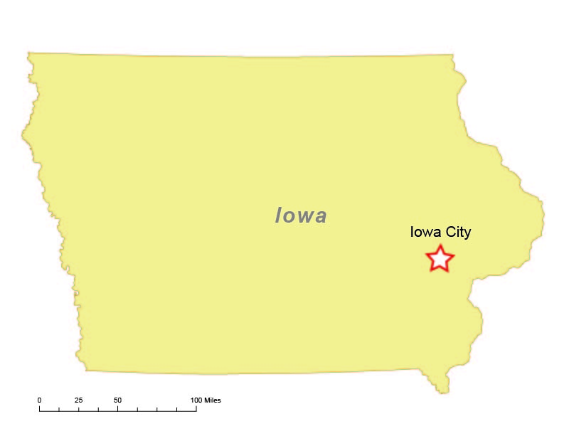 Iowa City, Iowa, is home to The University of Iowa and IIHR.