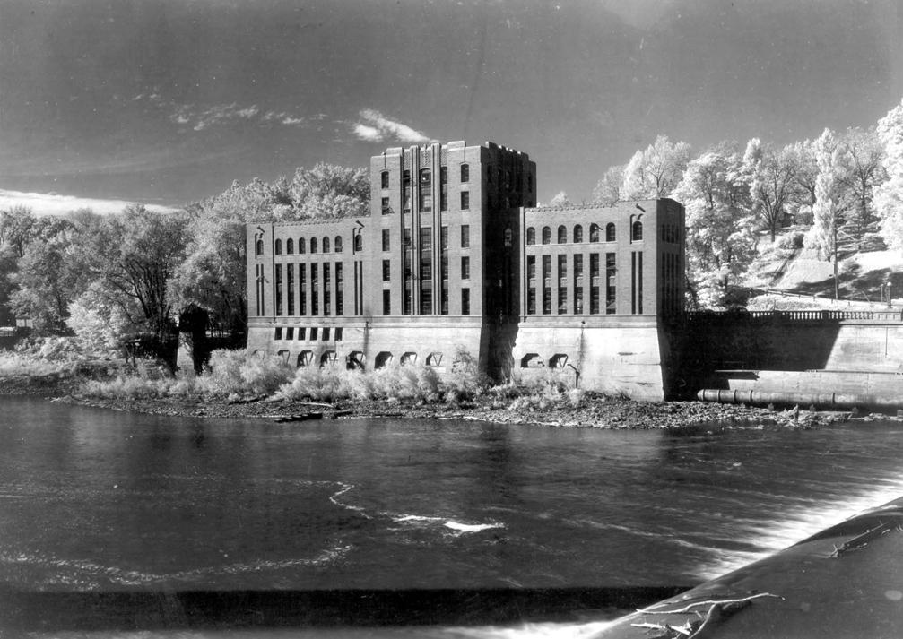 The University of Iowa's hydraulics lab, circa 1932.