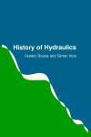 """Cover of the book titled """"History of Hydraulics"""""""