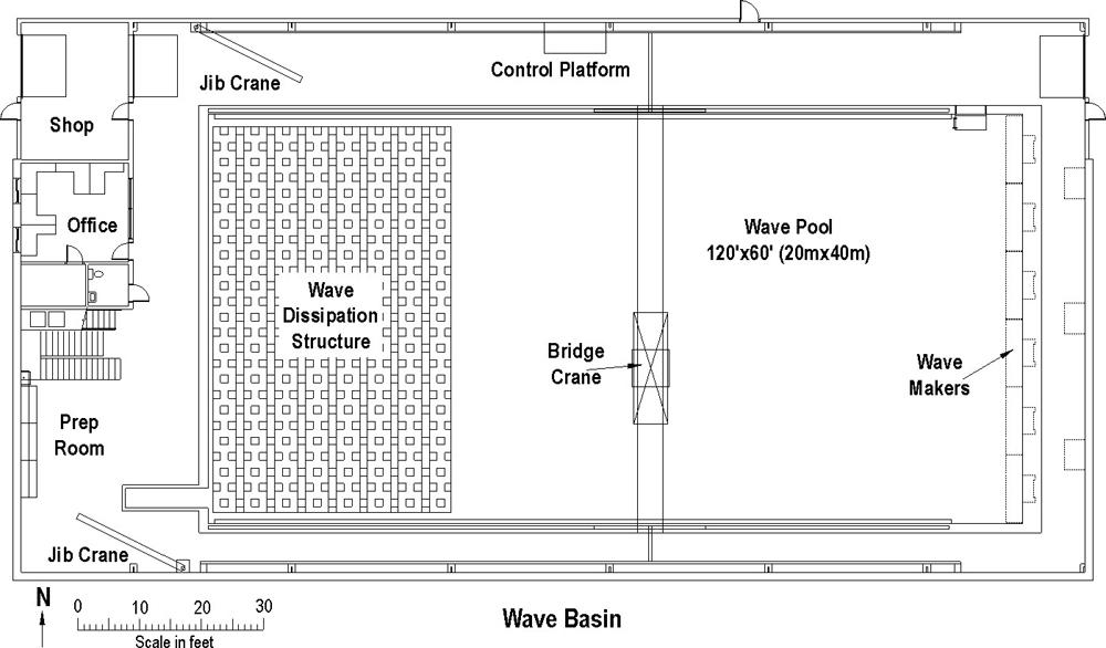 Wave Basin floor plan.