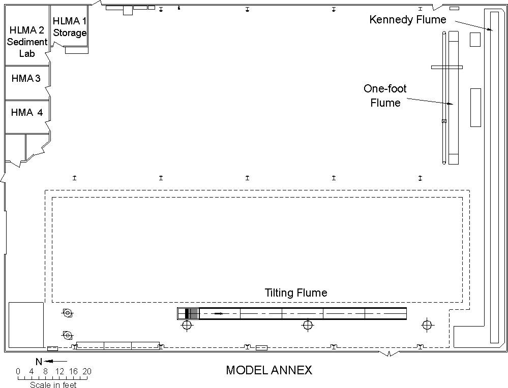 Model Annex floor plan.