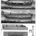 Boats, two to five feet wide, suitable for use on small canals (Treatise on the Improvement of Canal Navigation).