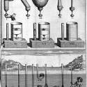 Pascal's experiments regarding the weight of air (Traitez de l'Equilibre des Liqueurs et de la Pesanteur de la Masse de l'Air).