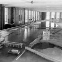 In the 1930s, IIHR helped create a nine-foot-deep navigation channel in the Upper Mississippi River by building and testing small-scale models of the channel's locks and dams before they were constructed.