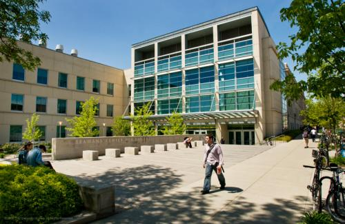 The University of Iowa's state-of-the-art Seamans Center for the Engineering Arts and Sciences offers 143,000 square feet of space for learning and research.