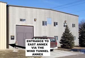 East annex entrance.