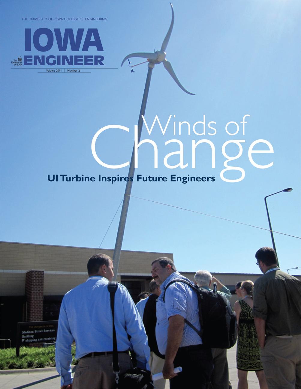 Cover of Iowa Engineer