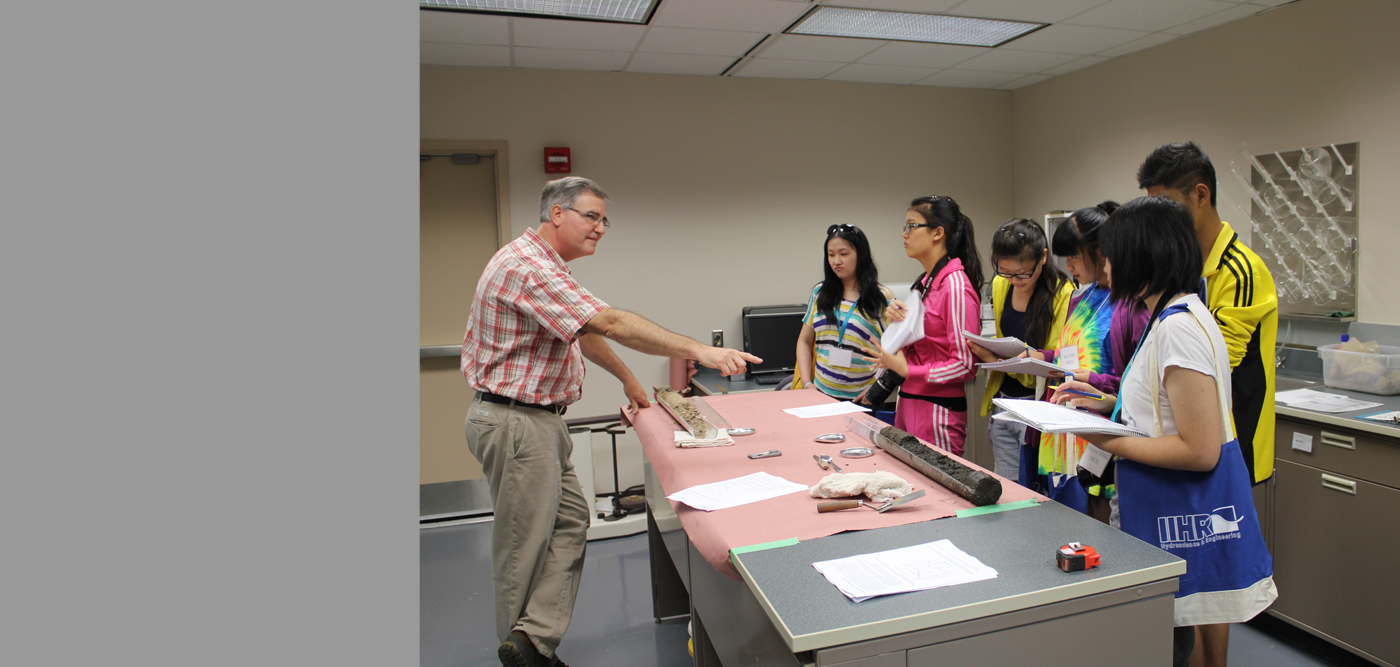 On July 23, the Lucille A. Carver Mississippi Riverside Environmental Research Station (LACMRERS) welcomed some of China's finest high school students, who had come to learn about the Mississippi River.
