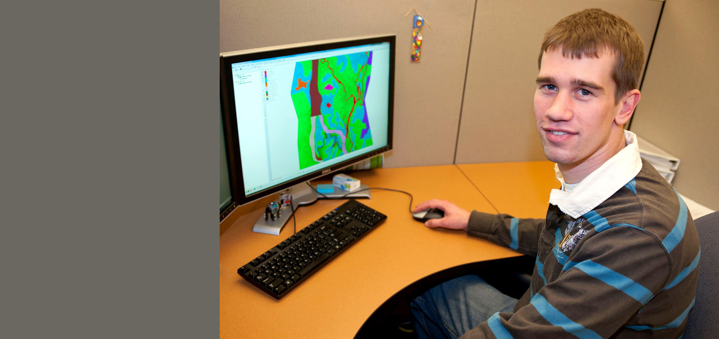 Stafne has developed a tool to help researchers learn more about historic hydraulic conditions on the Mississippi River.