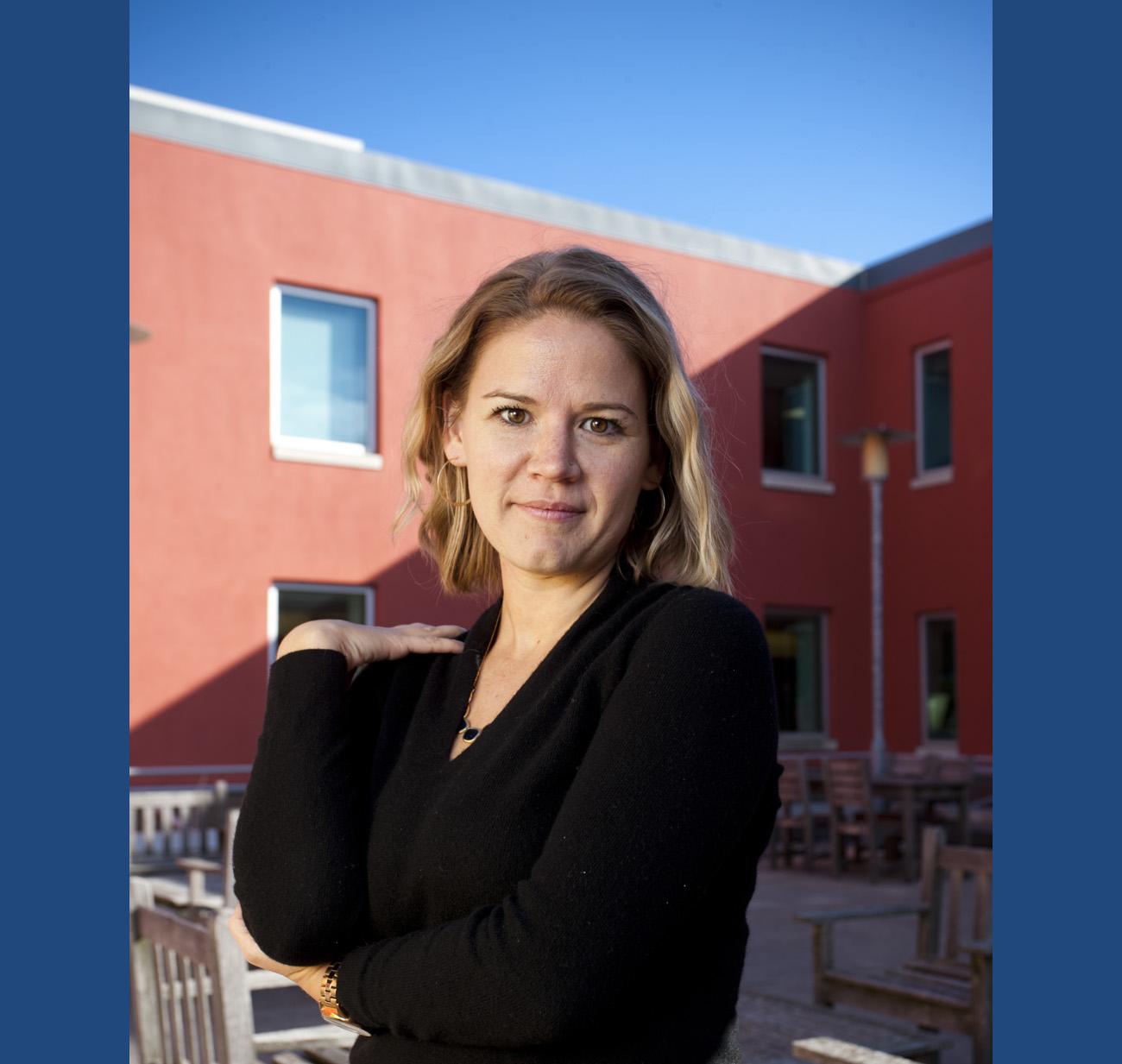 IIHR Assistant Research Engineer Sarah Vigmostad.