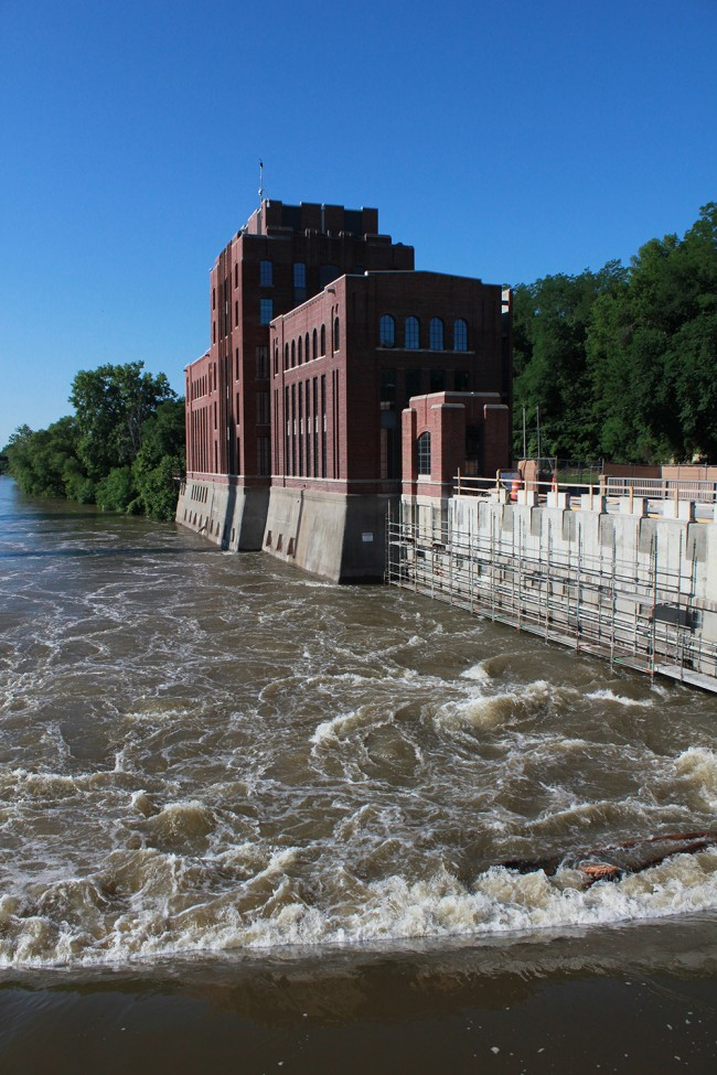 The Stanley Hydraulics Lab has stood sentry on the Iowa River since 1920.