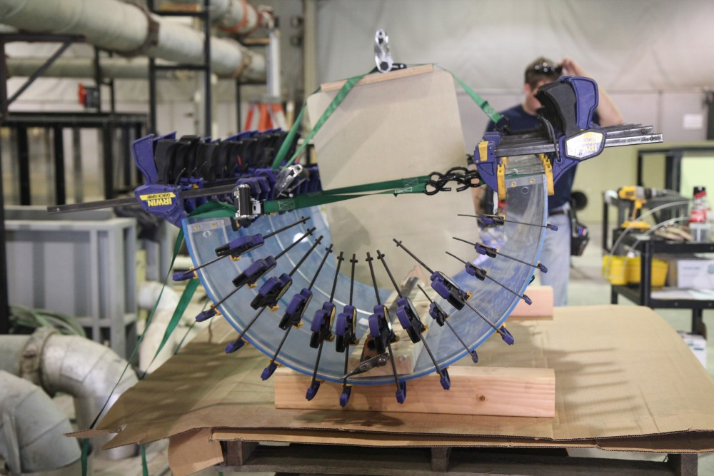 Precision fabrication to client specifications is a specialty of the ESS staff.