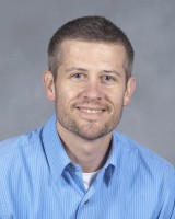This is a headshot of Troy Lyons, who serves as director of IIHR Engineering Services.