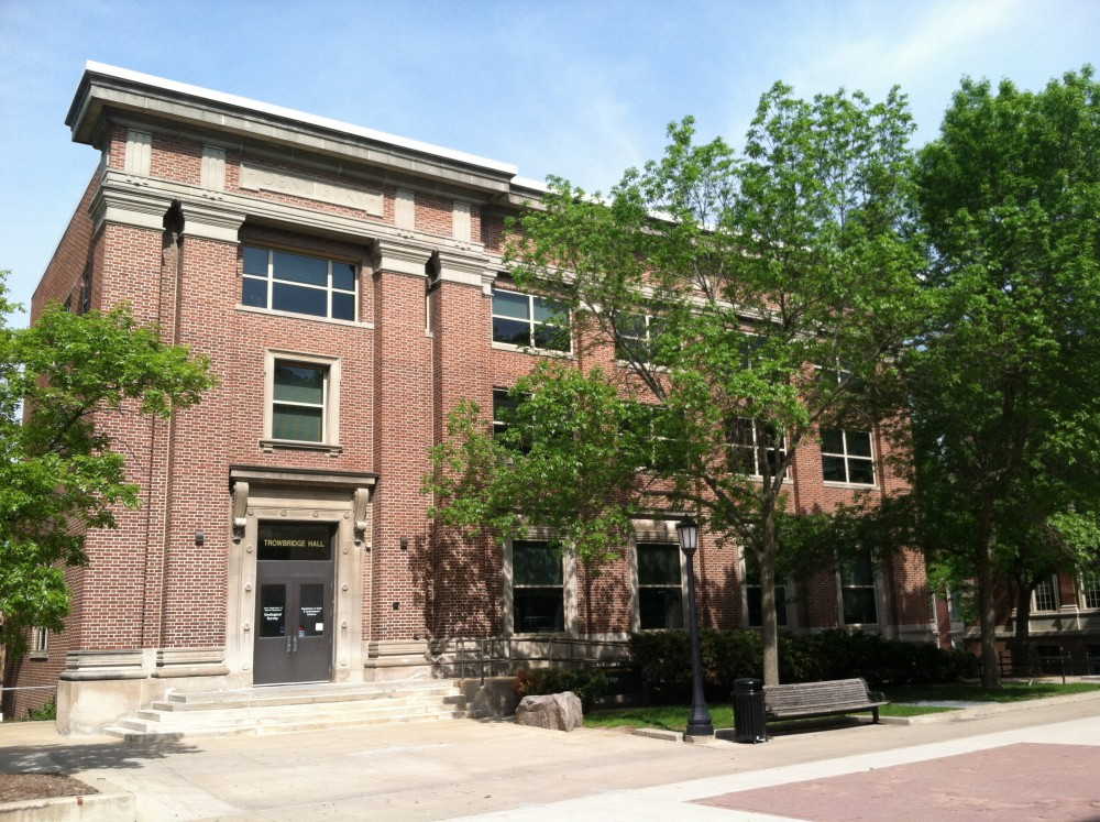 Trowbridge Hall on the UI campus is now home to the Iowa Geological Survey.