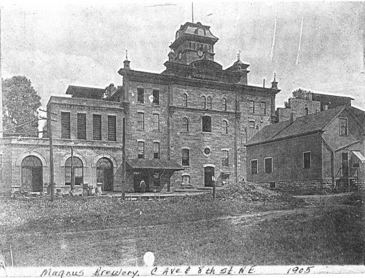 A Brewery in 1905
