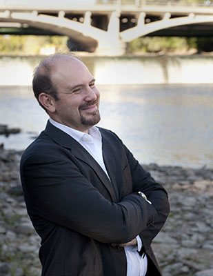 IIHR Assistant Research Engineer Gabriele Villarini.