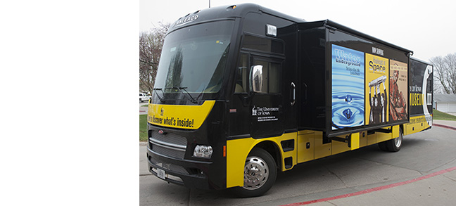 The UI Mobile Museum is ready to hit the road!
