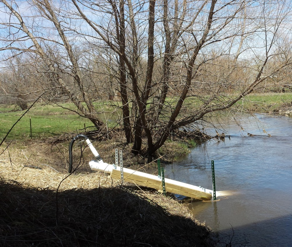 The Iowa Water Quality Information System depends on sensors deployed across the state that relay real-time water-quality data to IIHR, where it is disseminated on the web.