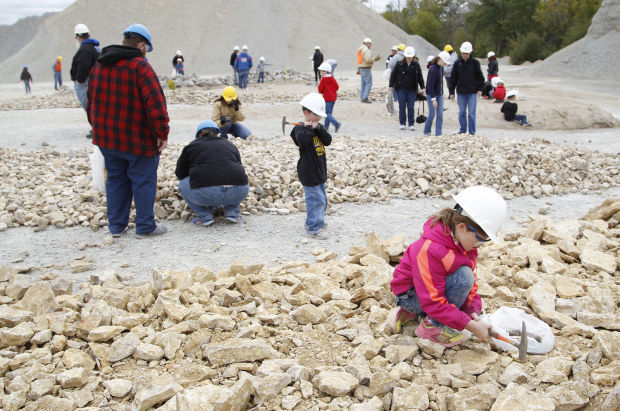 People at the Quarry.