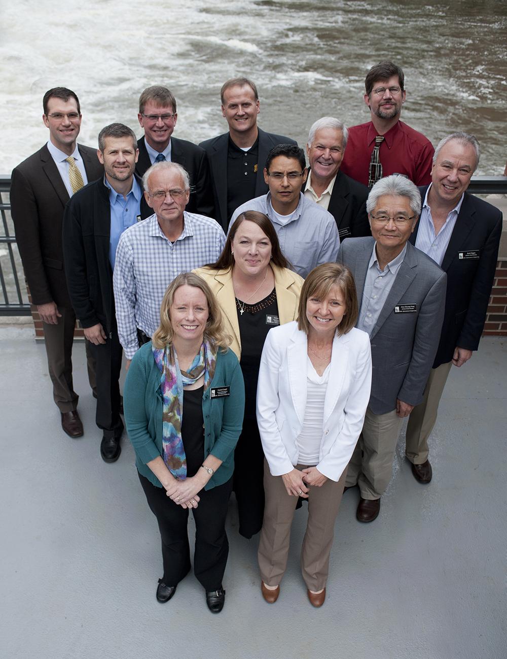 The 2015 IIHR Advisory Board.