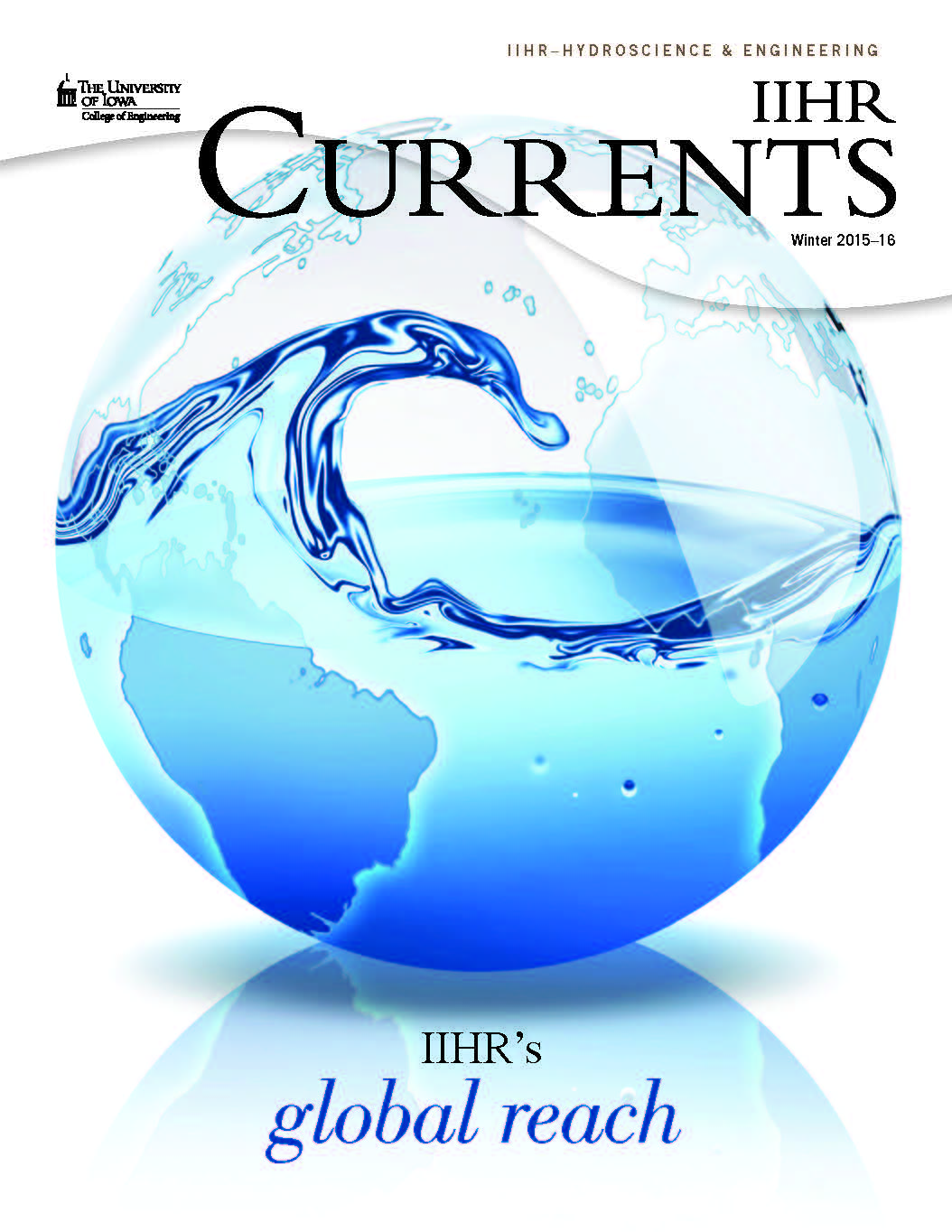 Cover of the 15-16 edition of Currents.