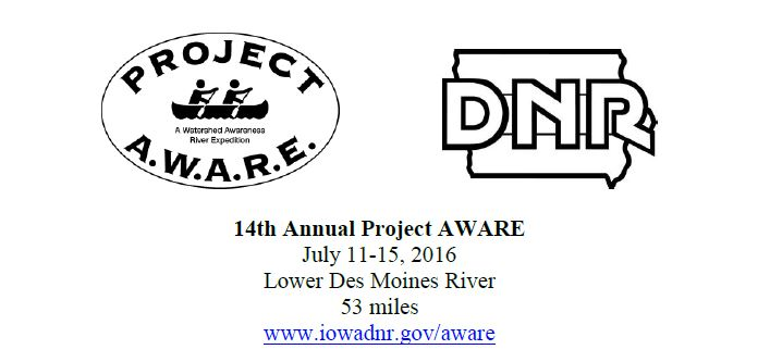 14th annual project AWARE flyer.