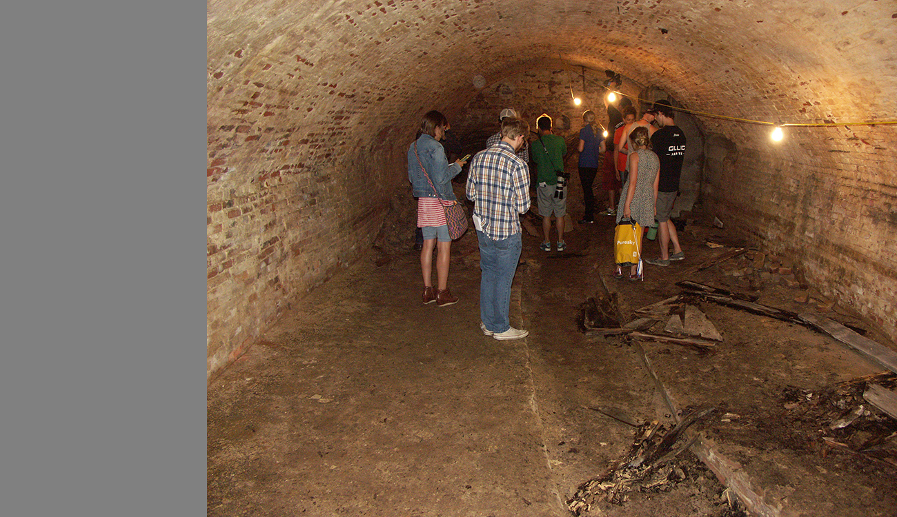 A team of researchers and students recently created LiDAR scans of Iowa City's beer caves, which date back more than a century.