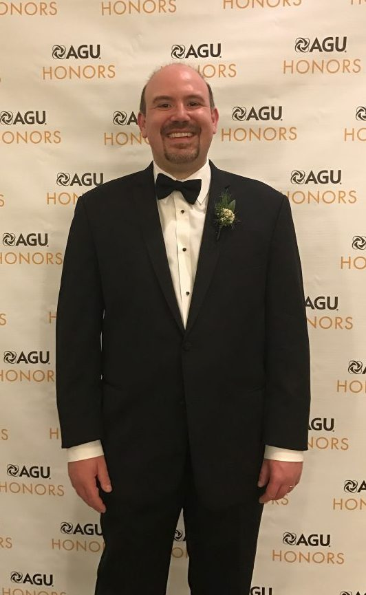 IIHR's Gabriele Villarini recently received the American Geophysical Union's James B. Macelwane Medal, which honors young researchers.