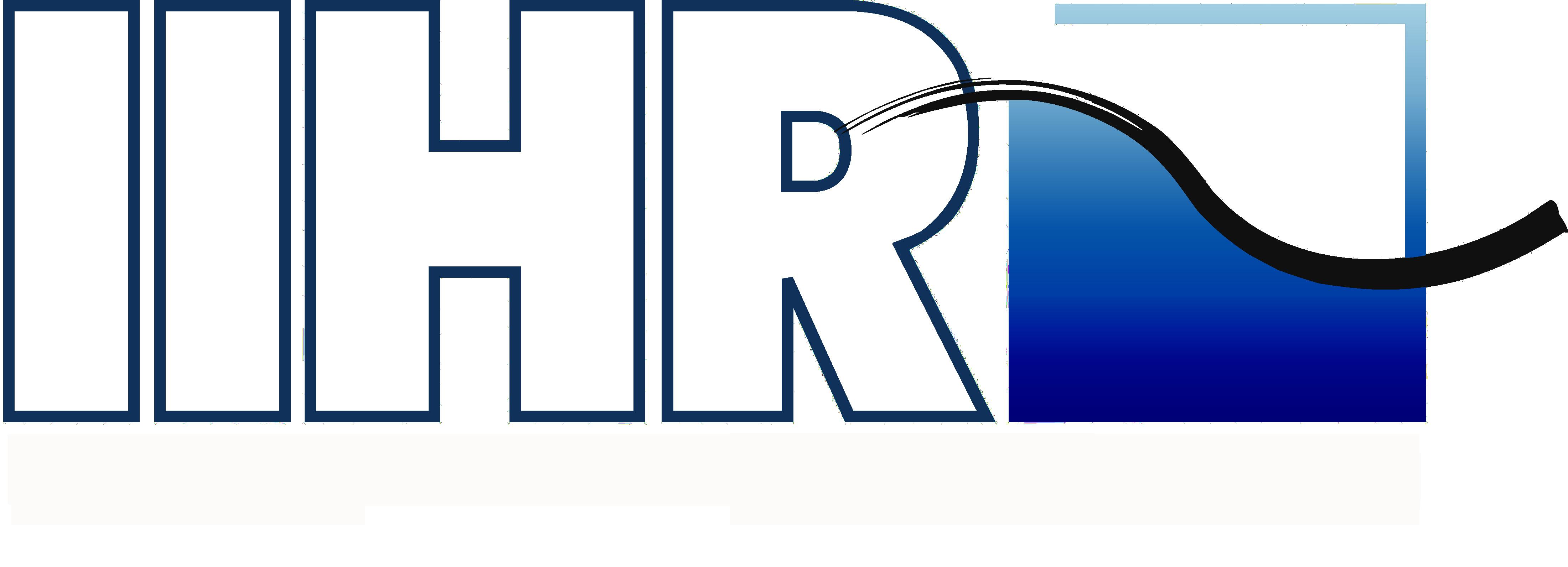 IIHR logo.