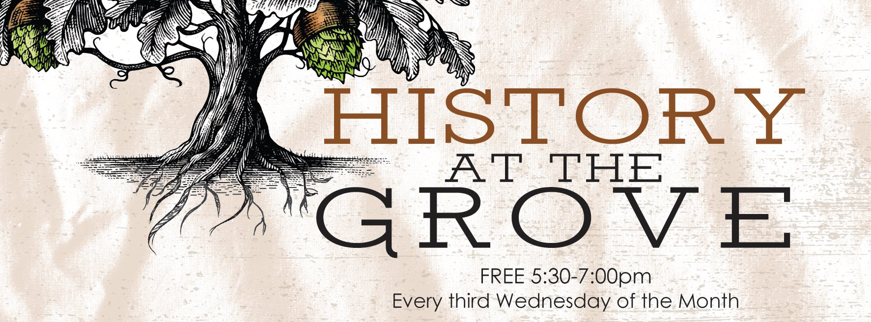 History at the Grove poster