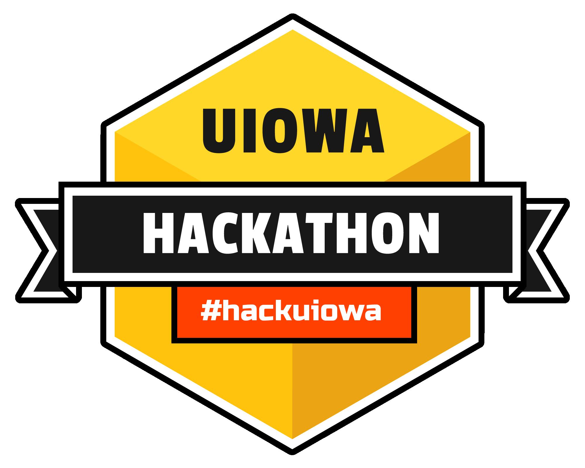 the Uiowa Hackathon Logo