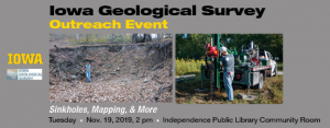 IGS Outreach Event poster